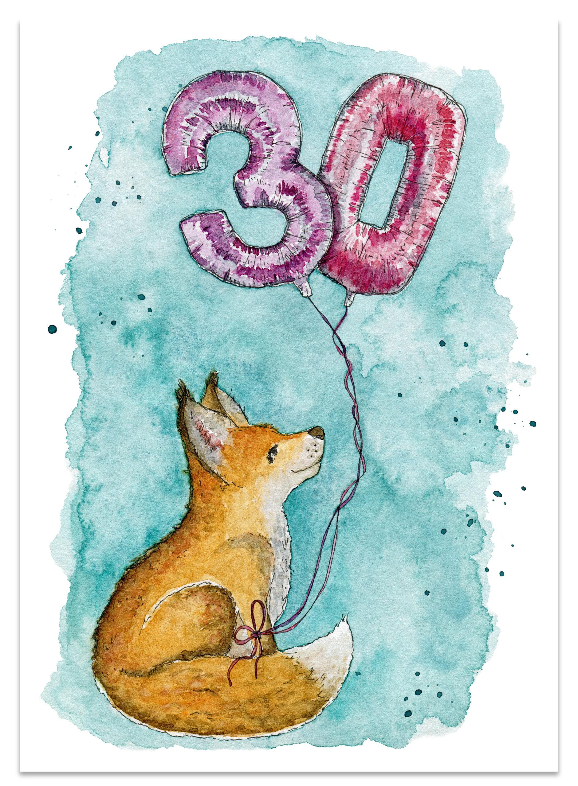 frame_birthday_fox_paper_lions