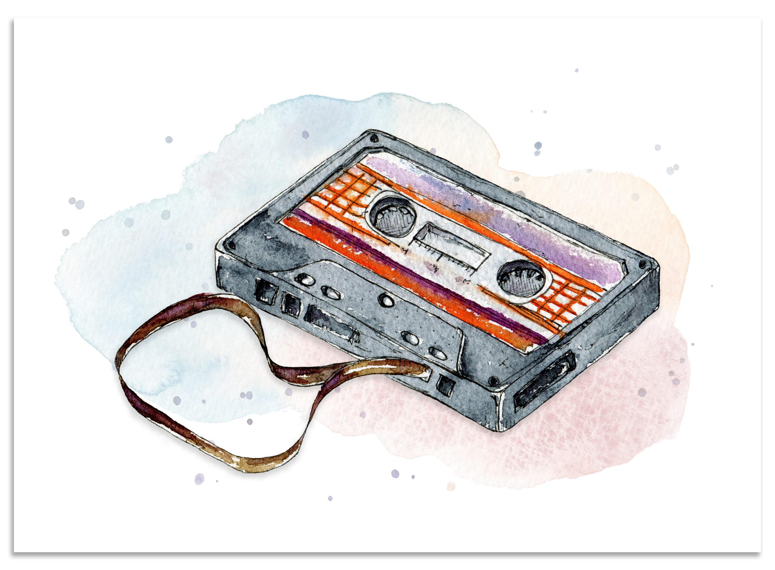 frame_cassette_paper_lions